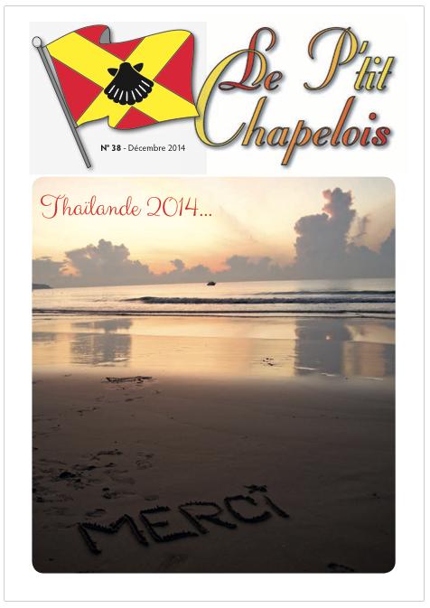 P'tit Chapelois no 38 décembre 2014